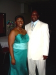 7-7-2007 - Tasha Genes Moore and her dad, Ernest 'Danny' Genes - granddaughter and son of Mary Ella Green Genes, great