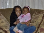 Shante' Bryant and her daughter Tariah Badwah - daughter & granddaughter of Robert 'Tre'' Bryant, III, granddaughter