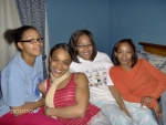 Aisha, Shante', Ebony and Dauniqua (Nee-Nee) - daughters of Robert 'Tre'' Bryant, granddaughters of Robert Bryant, J