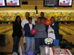 2007 Christmas in South Florida - bowling Rica Wallace, Shawn Pope, Carmelita 'Huck' Wallace Wilder, Net Pope, Alberta