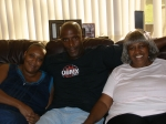 Net & Shawn Pope with mom Alberta McNeely - child and grandchildren of Arthur Lee Capel, grandchild & great-grandchildre