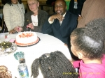 Ernest 'Danny' and Marie celebrating their birthdays (51st. & 53rd. at party at MPI hosted by their daughters)