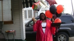 Shanaya after graduation