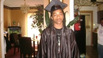Jeffrey Casuccio's 8th grade graduation - son of Demita Reddick Casuccio, grandson of Irene Reddick, great-grandson of